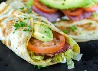 Low-Carb Breakfast Burrito