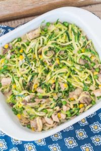 Creamy Chicken Zoodles