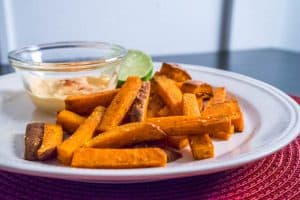 Paprika Sweet Potato Fries