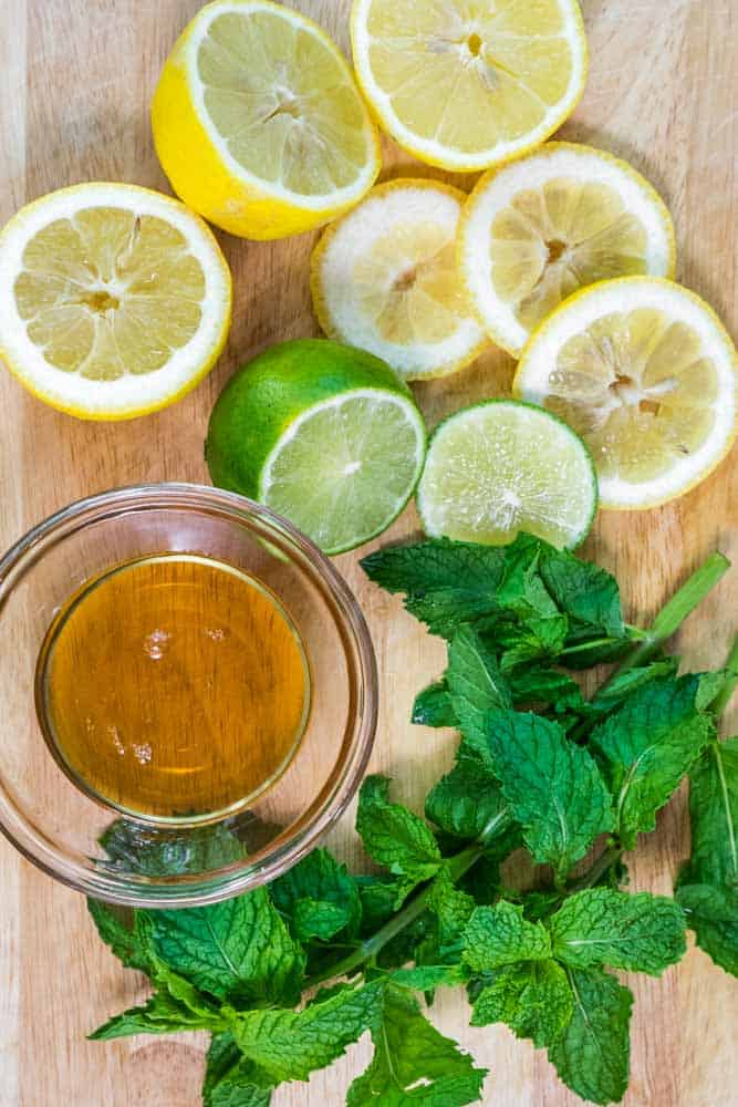 Lemon Lime and Mint Water-2