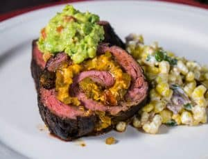 Mexican Stuffed Skirt Steak