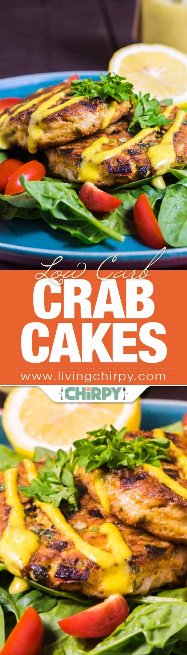 Low Carb Crab Cakes