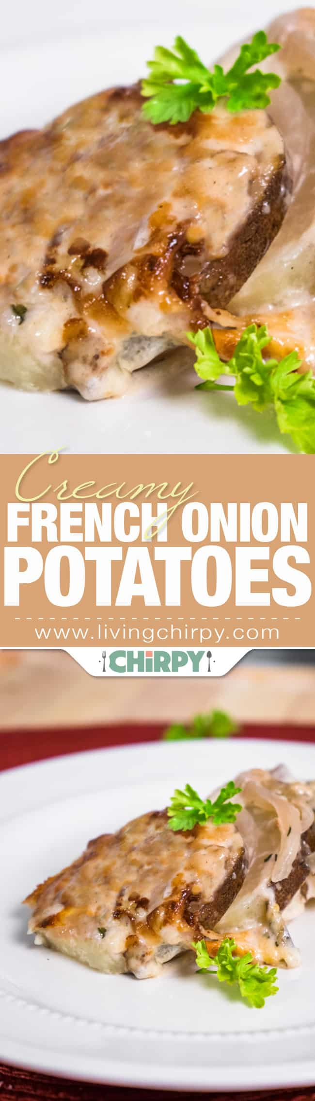 French Onion Potatoes