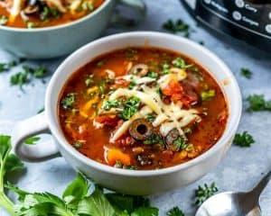 Instant Pot Pizza Soup