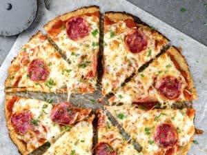 Pepperoni Cauliflower Pizza