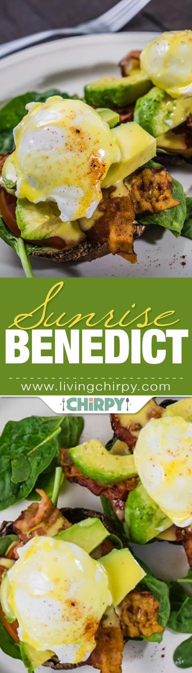 Low Carb Sunrise Benedict