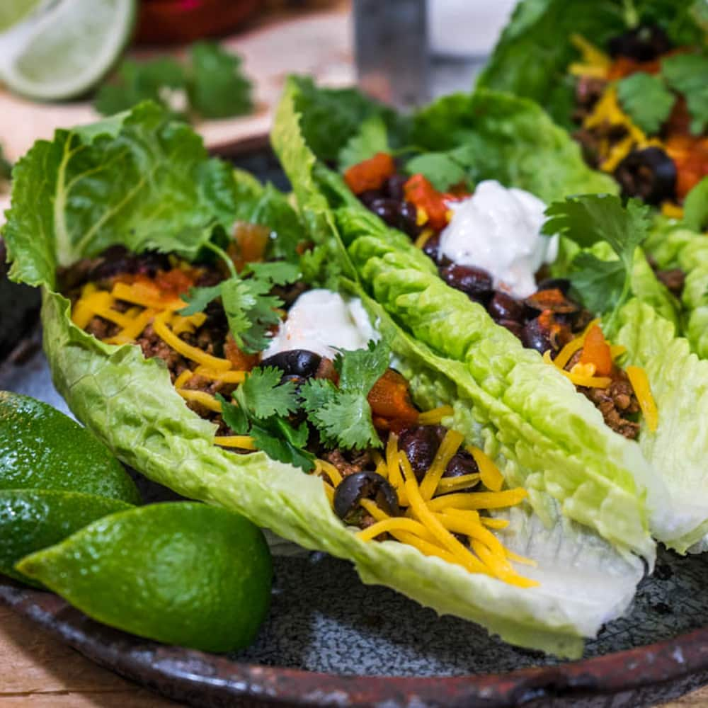 Ground Beef Lettuce Wrap Thumbnail