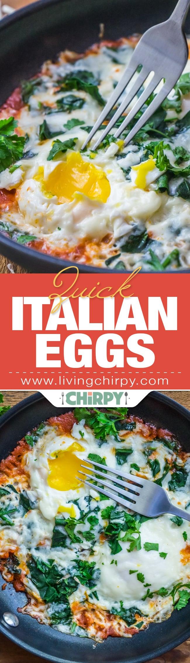 Quick Italian Eggs
