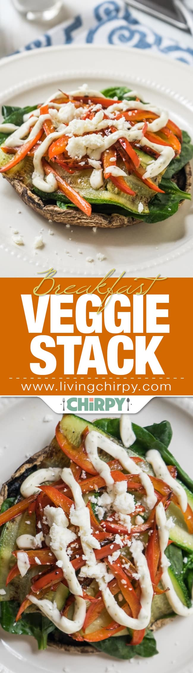 Breakfast Veggie Stack Pin