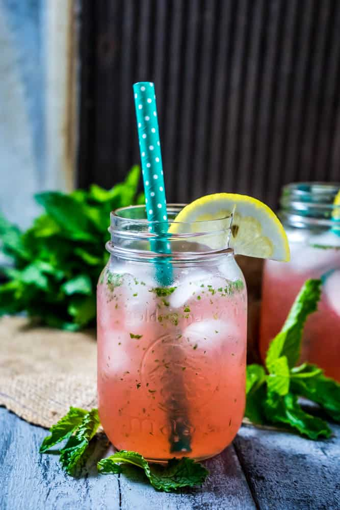 Pink Lemon Water 1