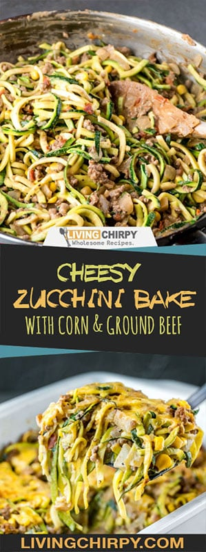 Cheesy Zucchini Bake with Corn and Ground Beef Thumb Image