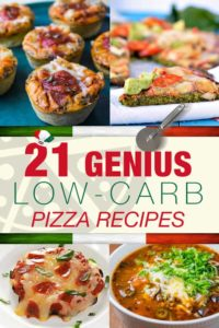 21 Genius Low-Carb Pizza Recipes