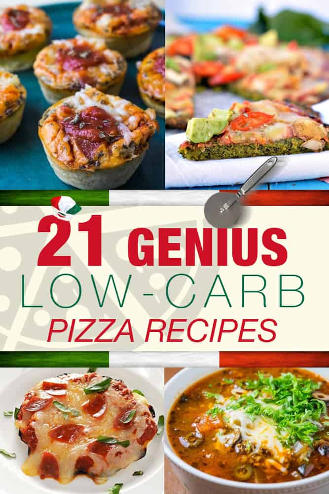 21 Genius low carb pizza recipes