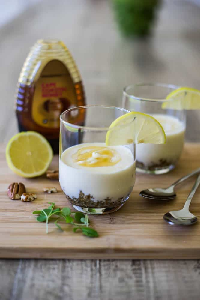 Low carb no bake lemon cheesecake-2