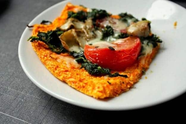 Low-Carb Carrot Pizza Crust