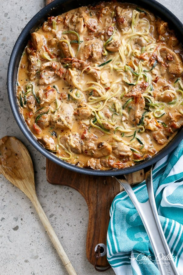 Creamy-Sundried-Tomato-And-Parmesan-Chicken-Zoodles
