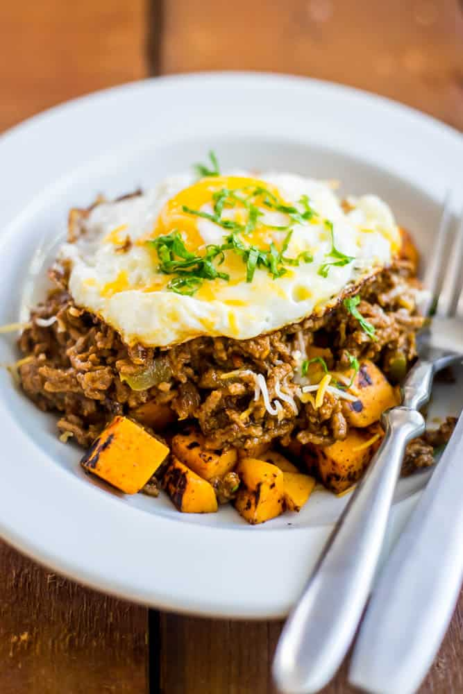 Sloppy Joe Sweet Potato Breakfast-3