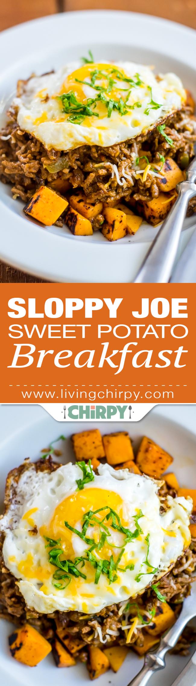 Sloppy Joe Sweet Potato Breakfast Pin