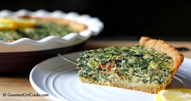 Greek Style Spinach-Feta Pie