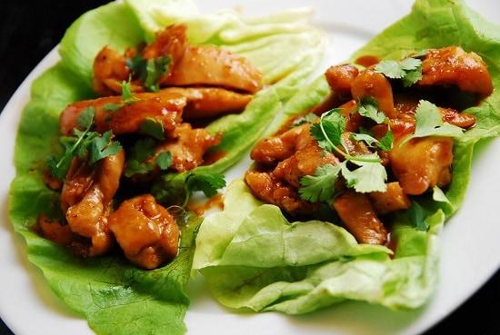 12 exquisite low carb thai recipes living chirpy thai chicken lettuce wraps forumfinder Images