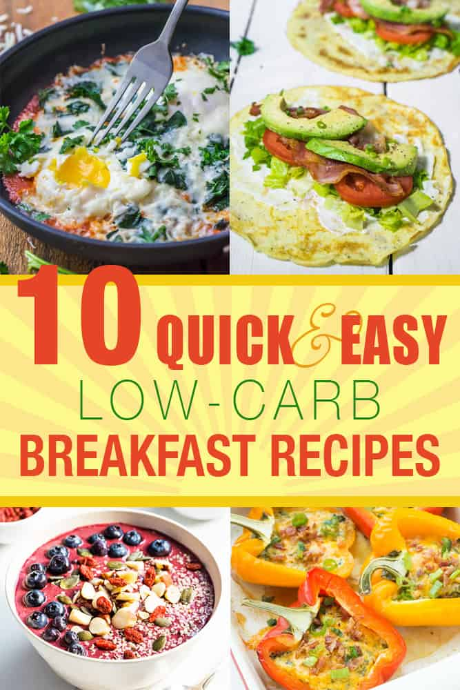 10 quick and easy low carb breakfast recipes living chirpy for Quick and easy low carb dinner recipes