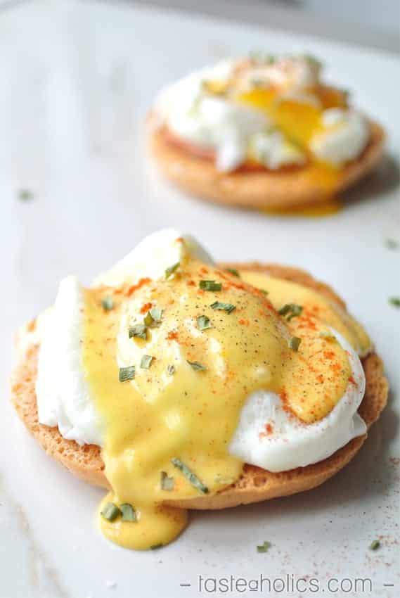 Eggs Benedict a la Oopsie