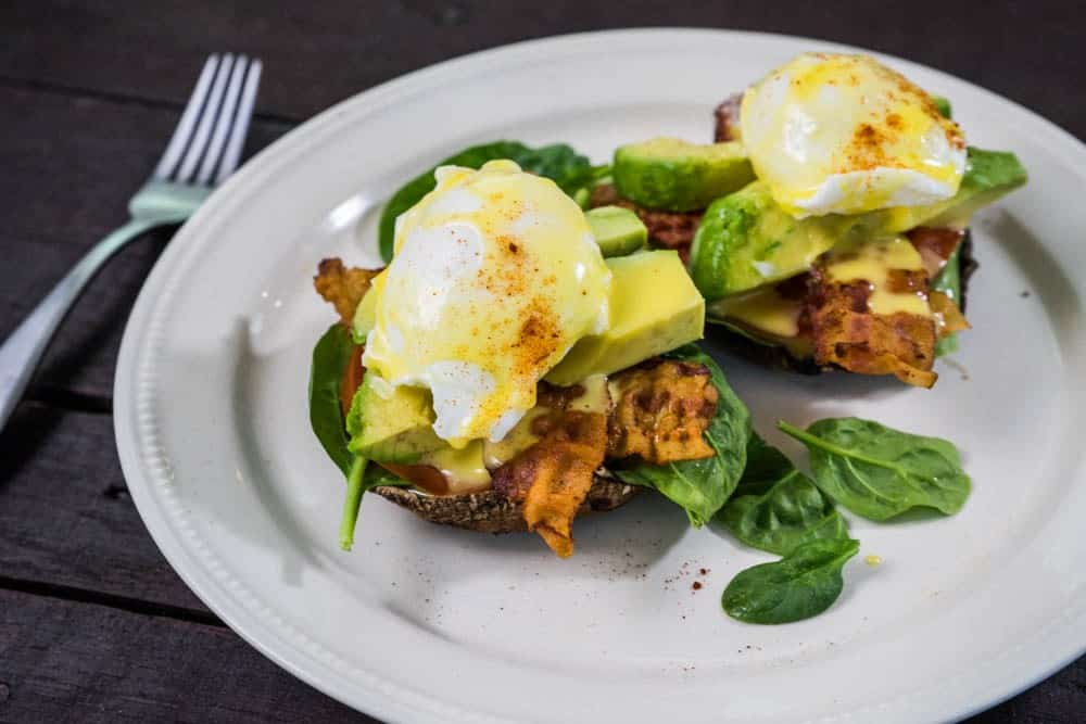 Low-Carb Sunrise Benedict