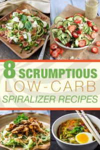8 Scrumptious Low-Carb Spiralizer Recipes