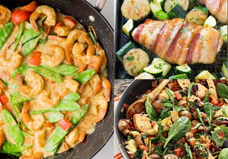 10 No Fuss Low-Carb One-Pot Meals