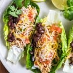 Low-Carb Shredded Chicken Tacos-3