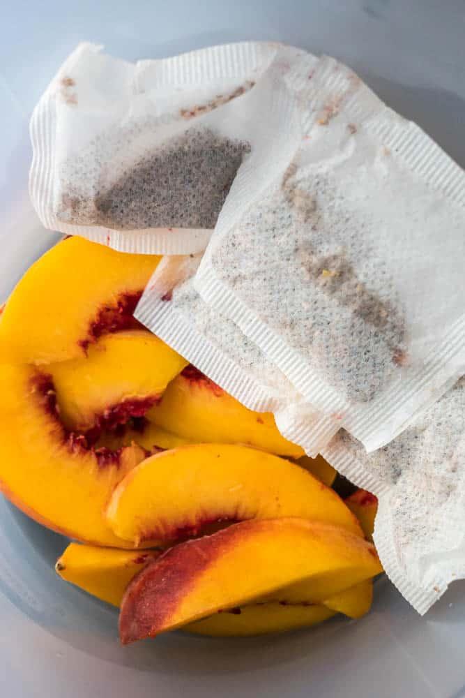 Peach Iced Rooibos Tea-3