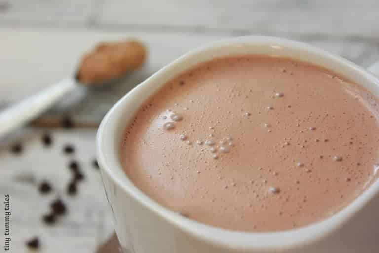 Creamy Peanut Butter Hot Chocolate