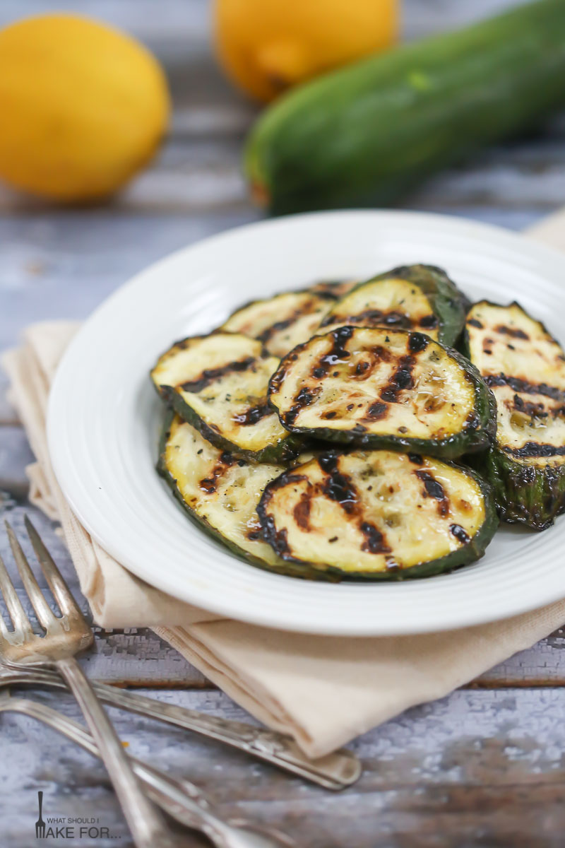 Simple Grilled Zuchini