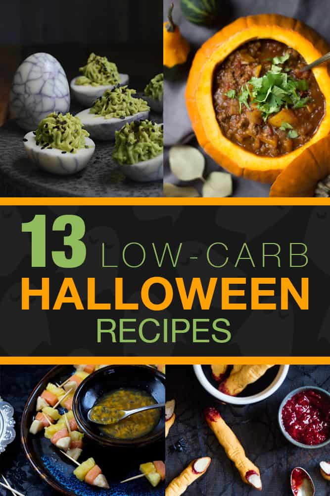 13 Low Carb Halloween Recipes