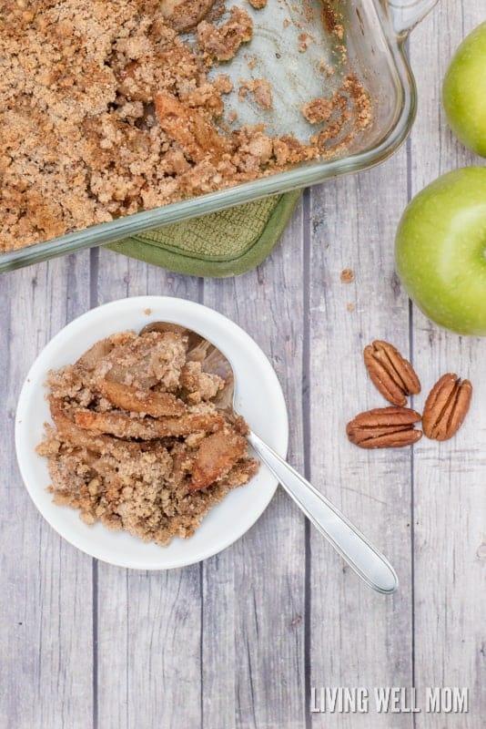 Grain Free Apple Crisp