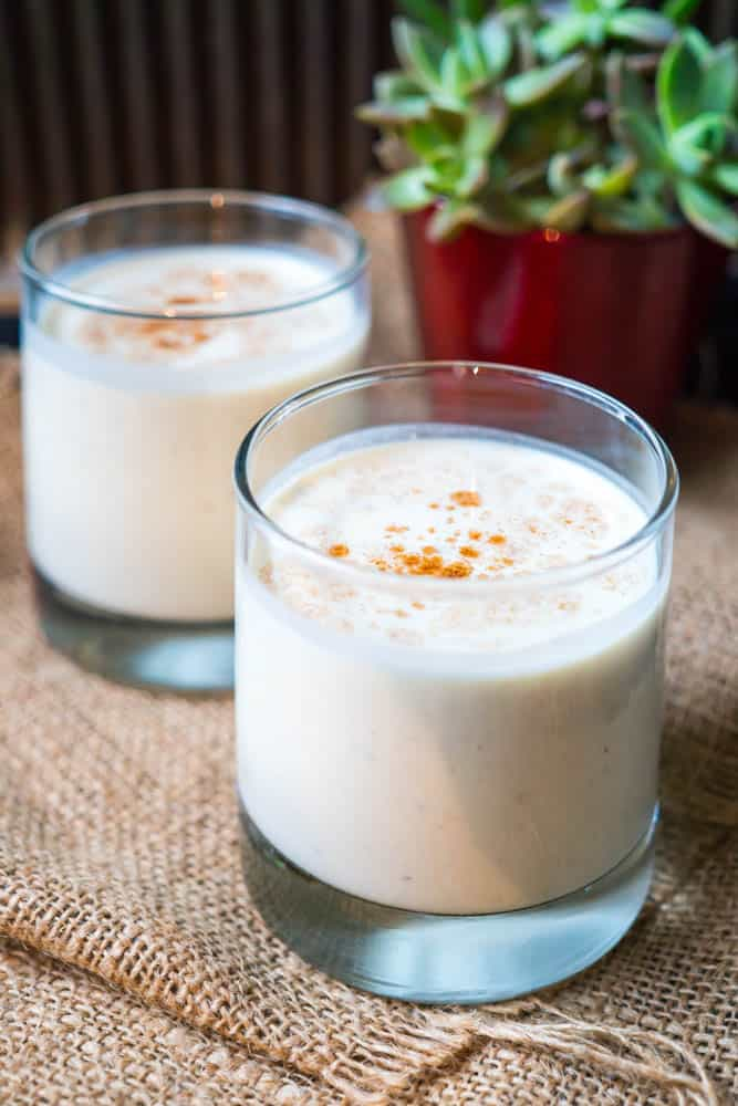 Simple Low-Carb Eggnog