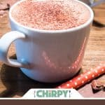 quick low-carb hot chocolate