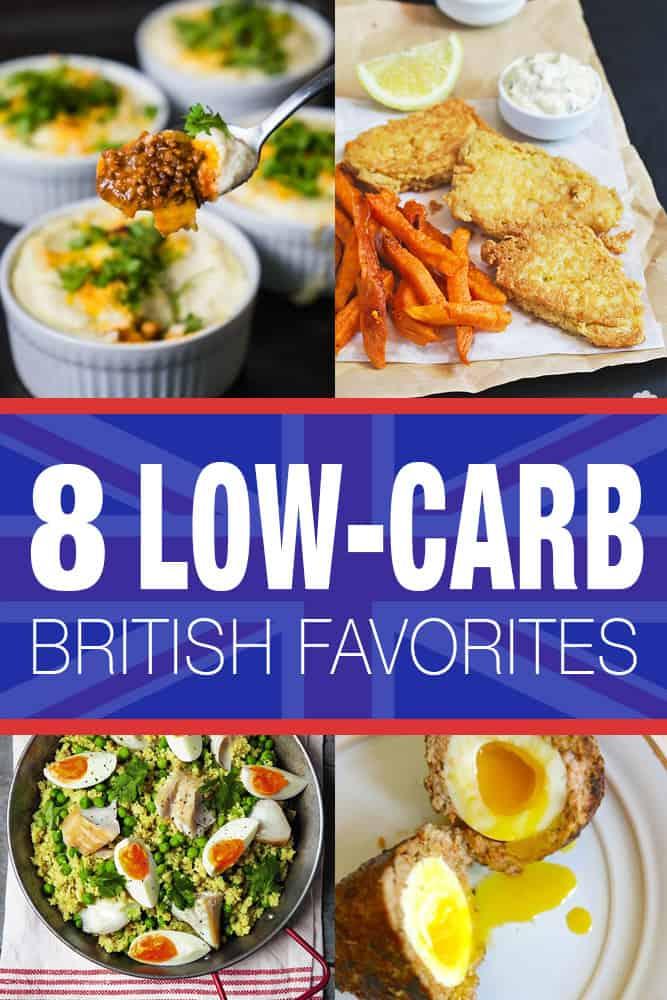 8 Low-Carb British Favorite