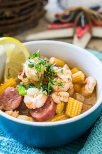Shrimp Boil Soup