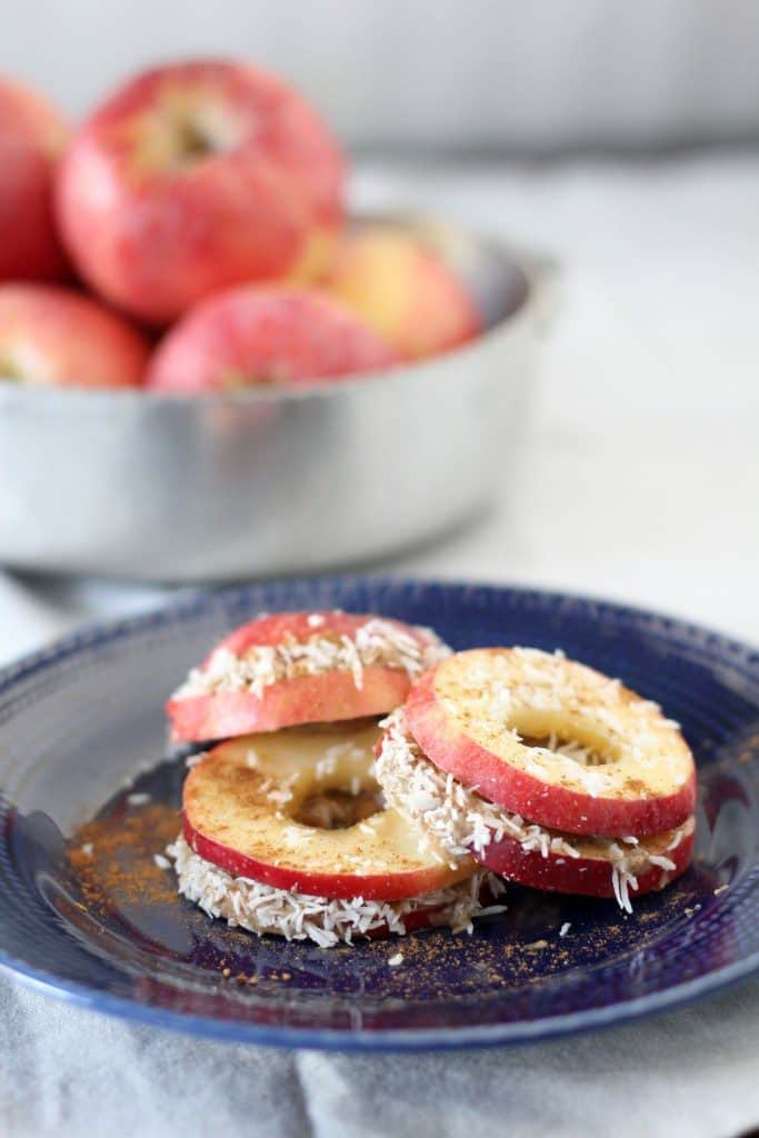 Apple and Almond Butter Sandwiches