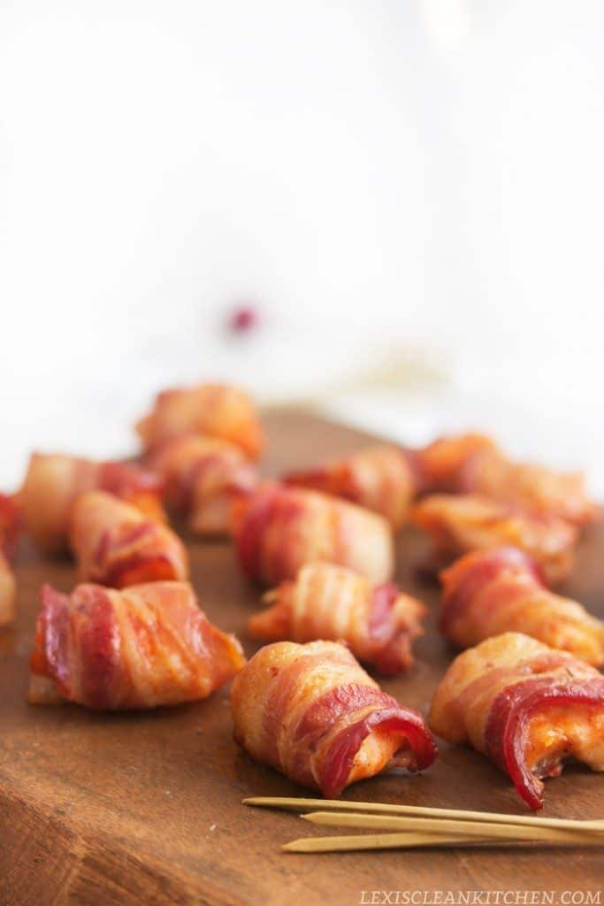 Bacon Wrapped Lime Chicken