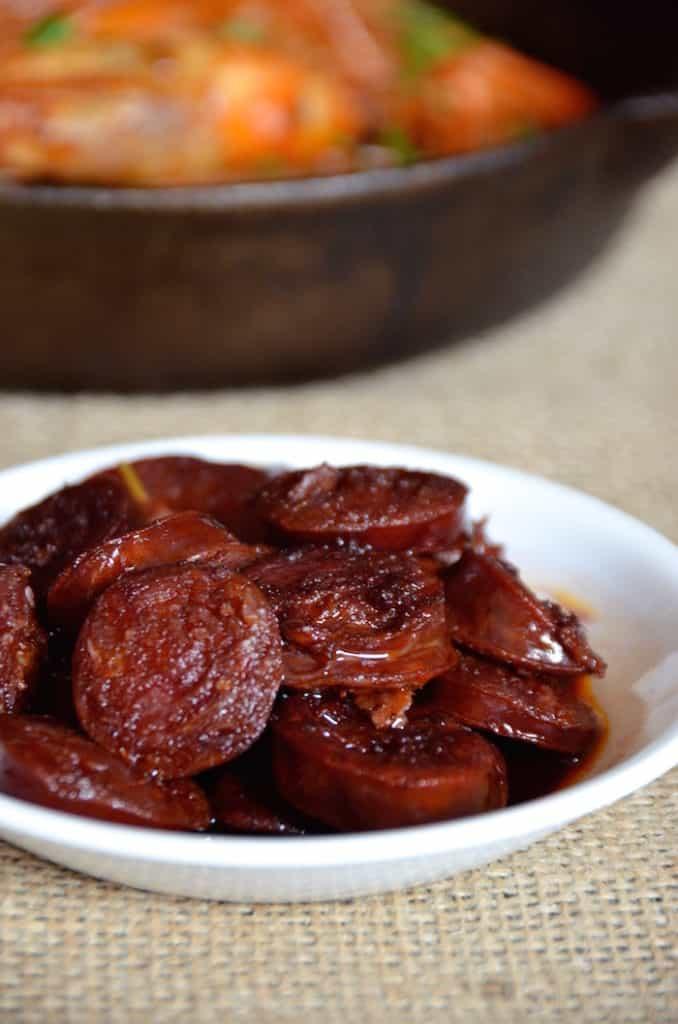 Chorizo In Red Wine