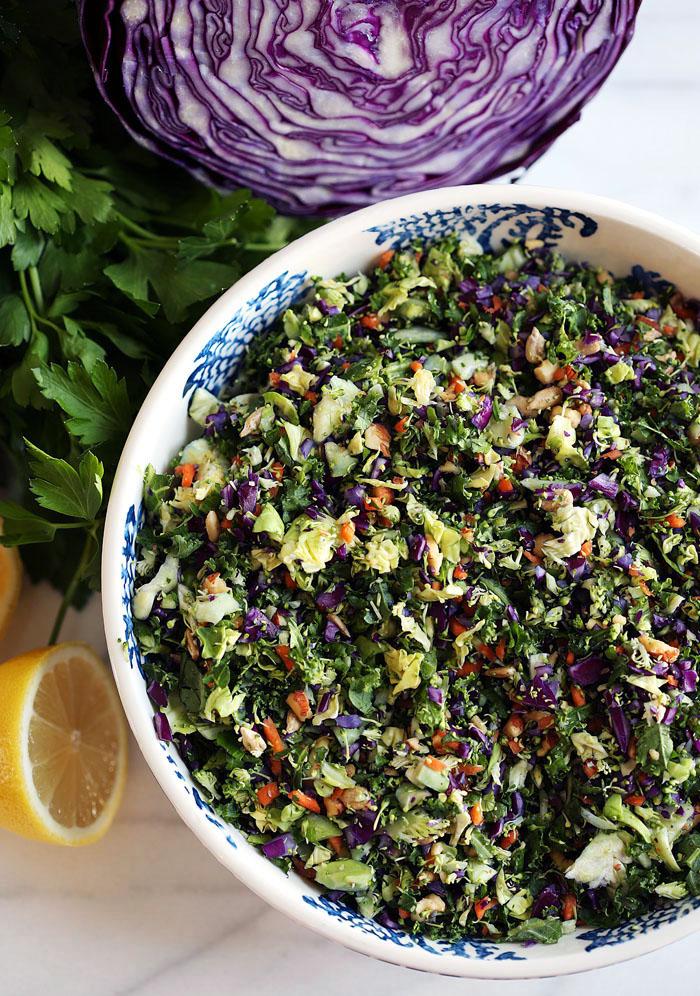 delicious detox salad healthy low carb whole 30 paleo gluten free