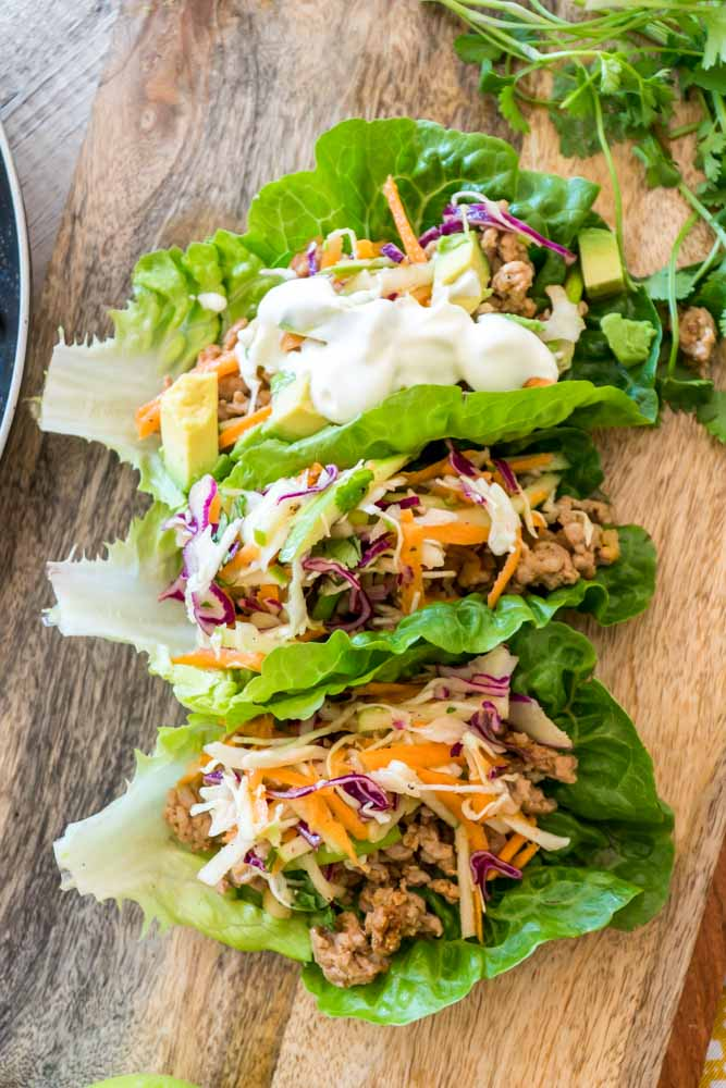 Spicy Pork Tacos Whole 30 Paleo Low-Carb Gluten Free Healthy-8