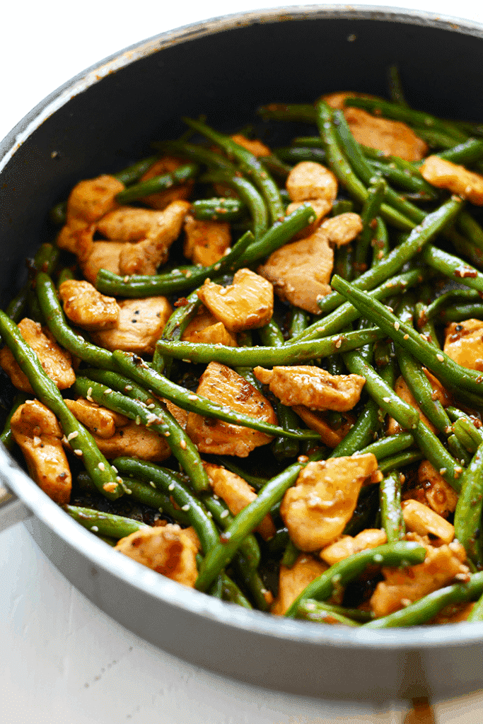 clean eating kung pan chicken