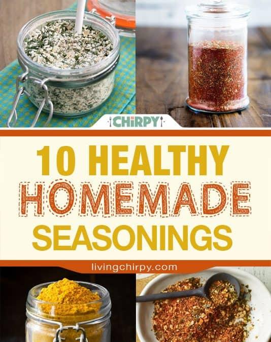 10 Healthy Homemade Seasonings