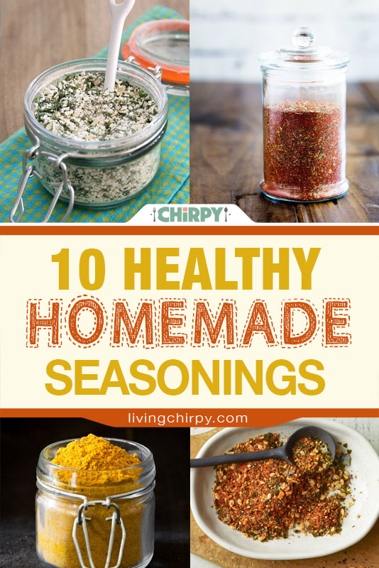 10 Healthy Homemade Seasonings