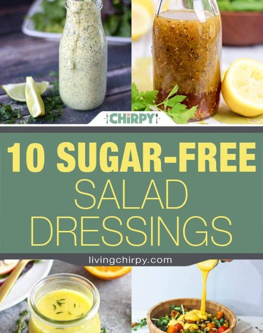 10 Sugar-Free Salad Dressings