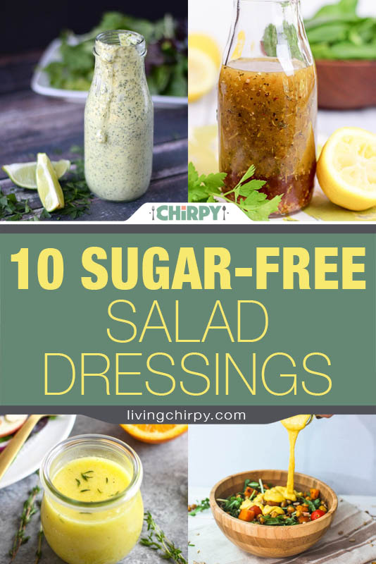 10 Sugar-free salad dressings