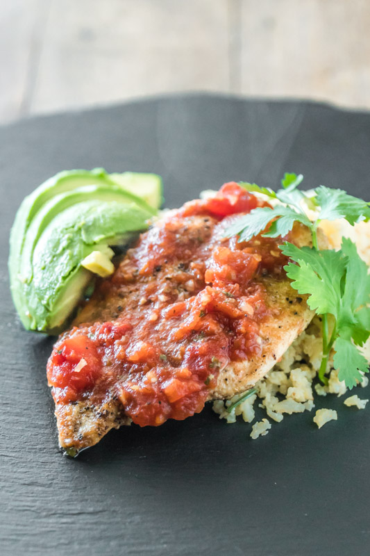 Salsa Chicken Gluten Free Low-Carb Whole 30 Healthy-11